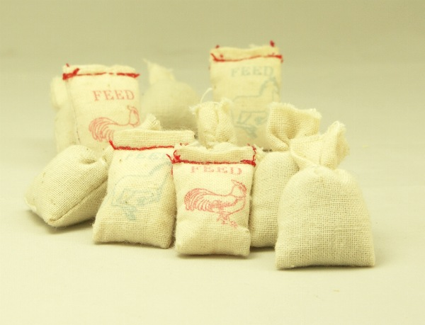Cargo-To-Go: O GA Freight FEED & SAND Bags 14 Pieces - 10-0910-S