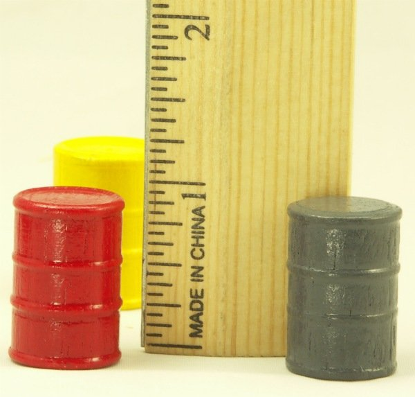 Cargo-To-Go: - 16 O Scale Industrial Oil Barrels - 101-0904-Set