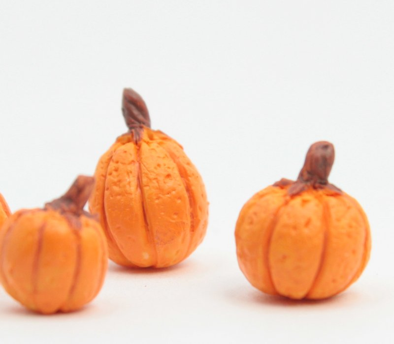 Realistic Pumpkin - Set of 4 - 101-3515