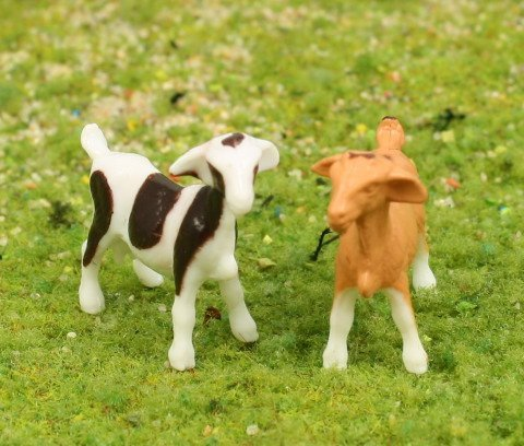 "3/4"" Goats - Set of 6 - O SCALE - 102-2039"