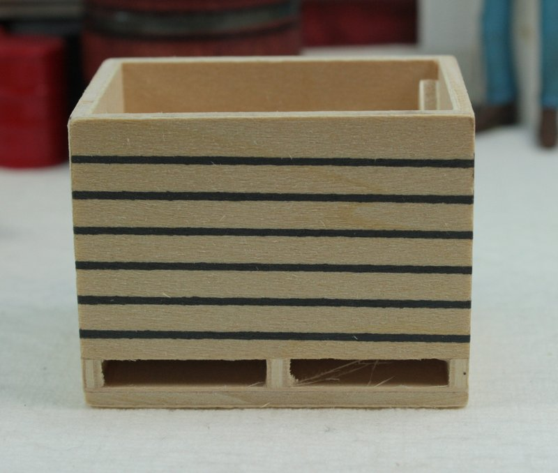 Wooden Crates - Set of 2 - 106-0611