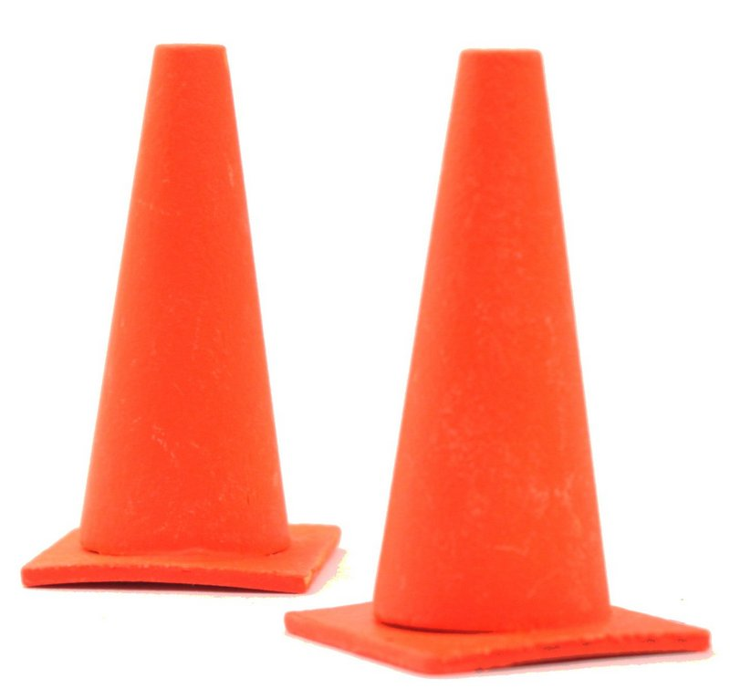 Traffic Cones - G GA - Wood - 2 Pcs - 106-0965