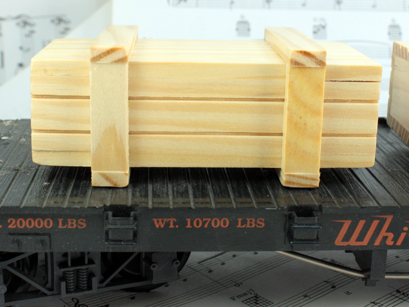 Industrial Wood Crate - 106-HS-192