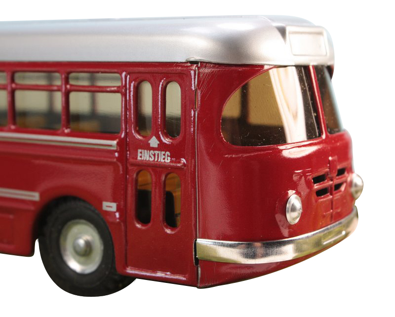 Euro Bus 1959 Retro  - O Scale - Metal - Kovap