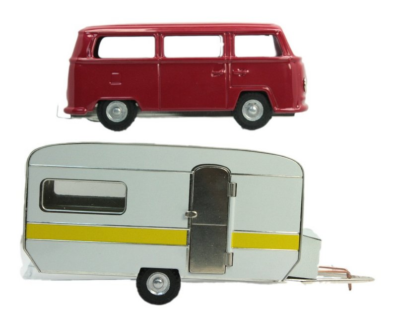 Trailer & VW Bus Set - Bundle - 108-0609-0610