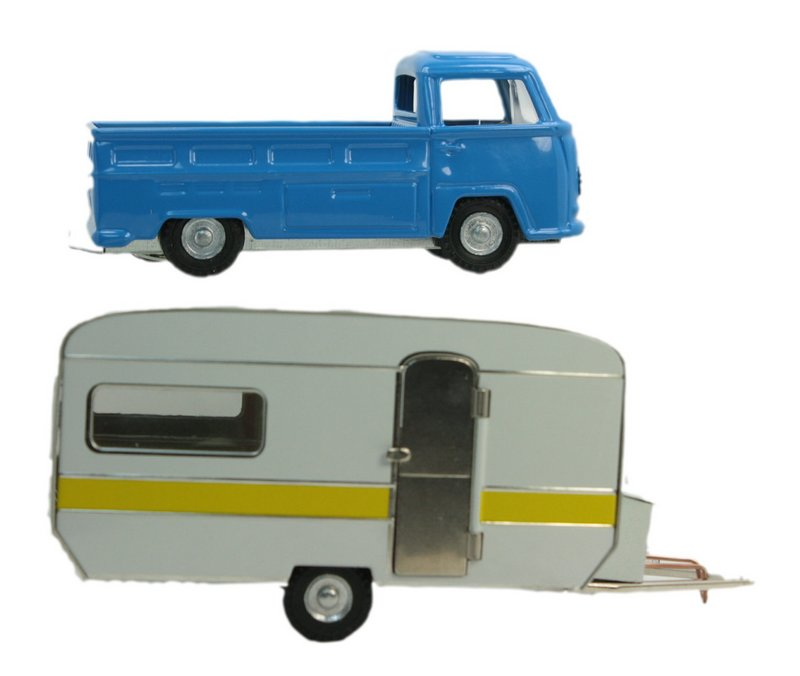 Trailer & VW Truck Set - Bundle - 108-0609-0611