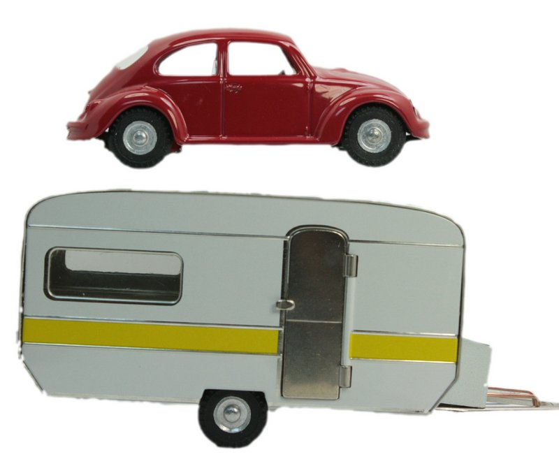 Trailer & VW Beetle Set - Bundle - 108-0609-0640