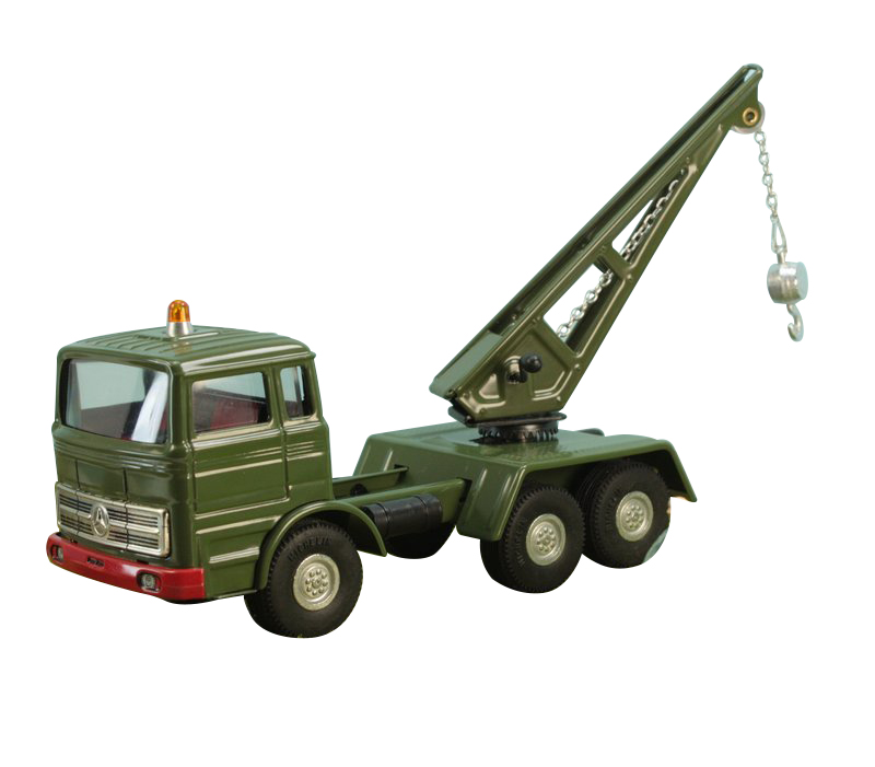 Army Tow Truck Mercedes Military - 108-0664