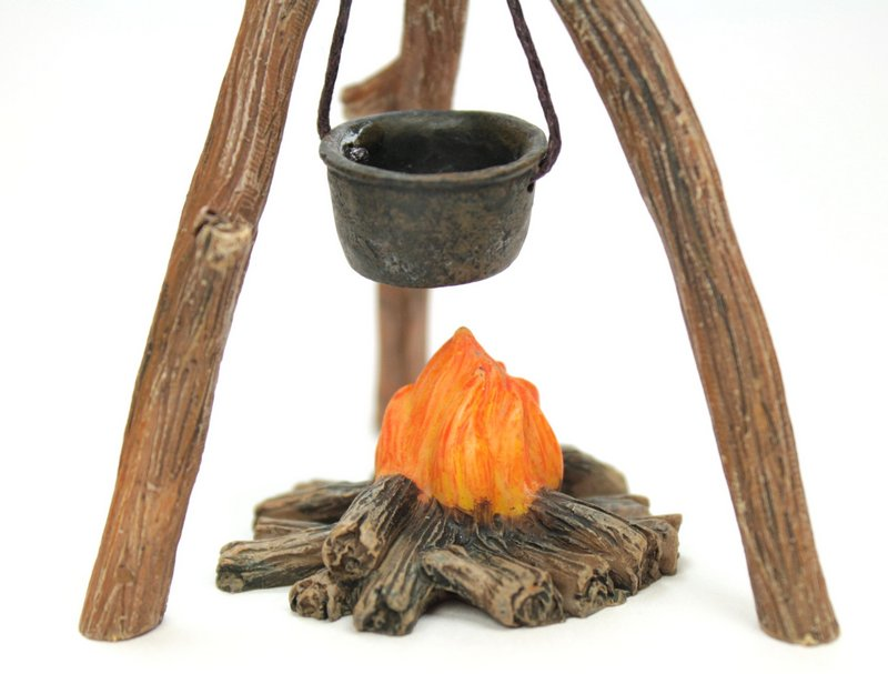 Hobo Campfire with Cooking Pot - #118-1001