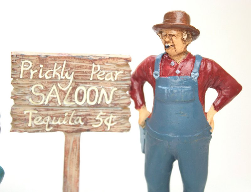 Prickly Pear Saloon Sign - #118-1009