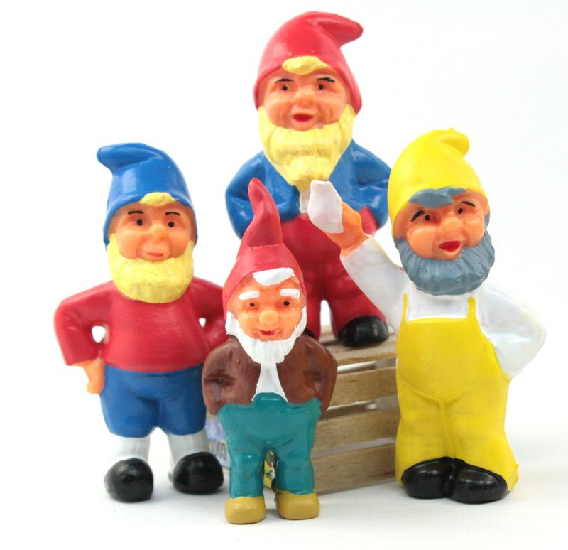 "Gnomes - Dwarfs Set - 2.25"" - Set of 7 - #149-0303s"
