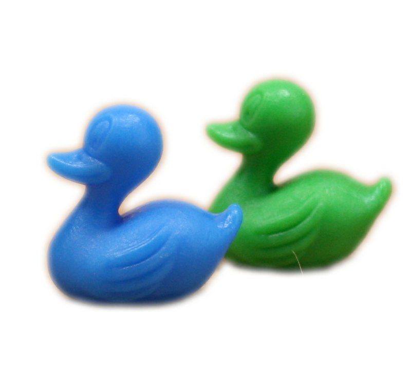 Duckies - Colorful - Set of 8 - Dollhouse Minis - 201-126-P