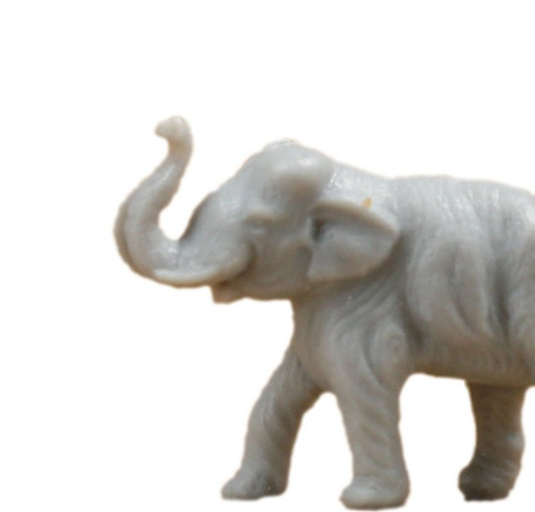 Elephants - Tiny - Set of 8 - Retro Dollhouse Minis - 201-149-2