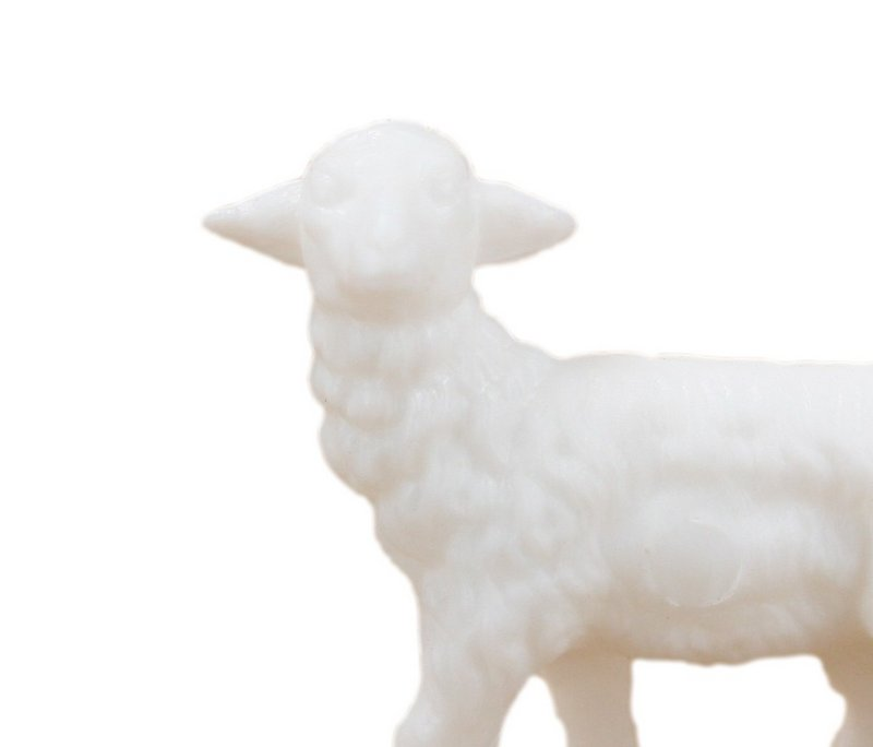 Sheep - Lambs Medium - Set of 8 - Dollhouse Minis - 201-150-3