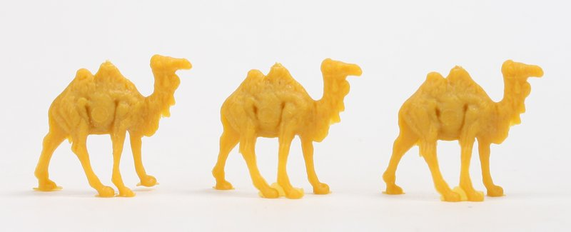 Camels - Small - Set of 8 - Dollhouse Minis - 201-153-2