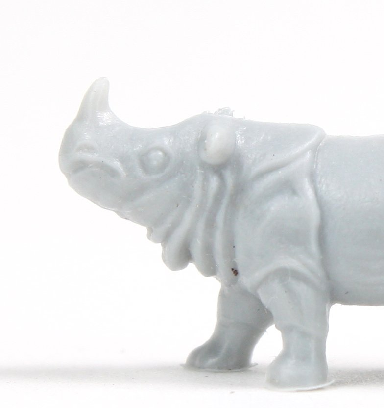 Rhinoceros - Small - Set of 8 - Dollhouse Minis - 201-160-2