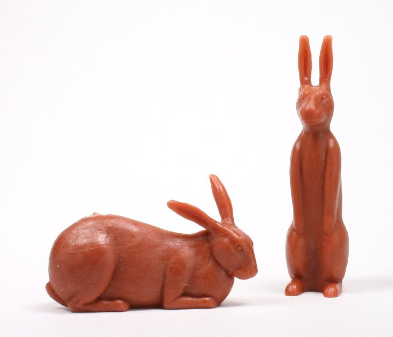 Rabbit - Bunny - Large - Set of 8 - 201-168-4
