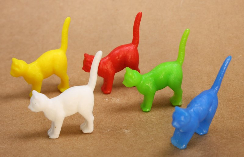 Cats - Crazy Colors - Set of 8 - 201-510-3