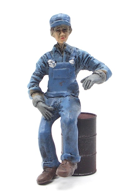 .Mike, the Engine Fireman - G Scale - 1 piece - 102-5002