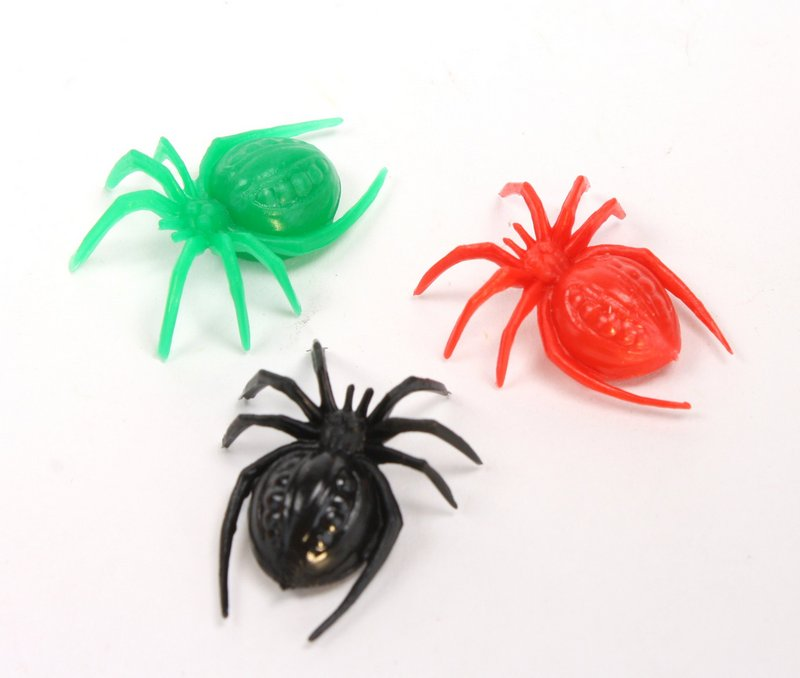 Spiders - Halloween EEK!- 3 Color Mix - 203-3-003 - Set of 6