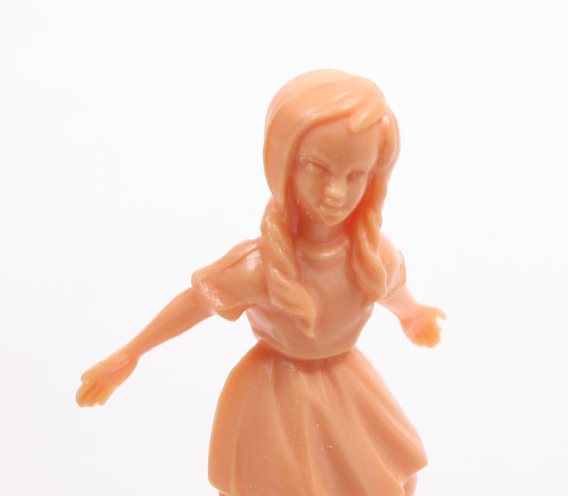 "Dancing Little Girl - 1 3/4"" Tall - Set of 3 - #203-3-088"
