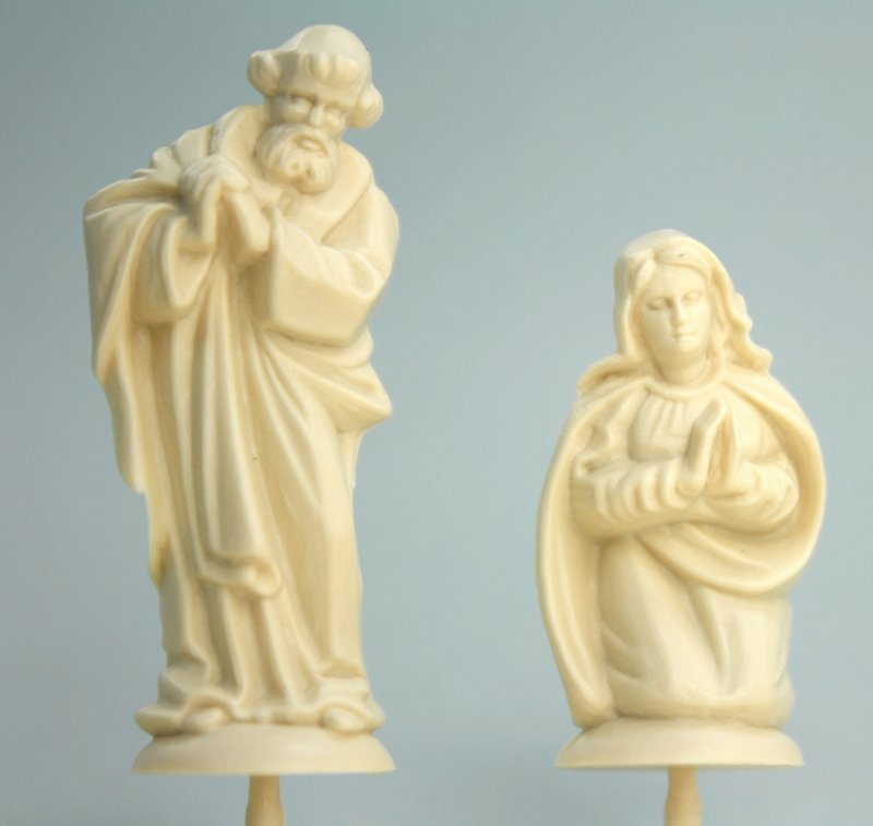 Nativity Scene - Large  - Set of 4 Mini Figures  203-3-135L