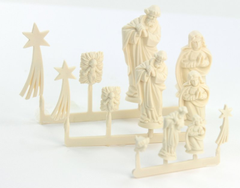 Nativity Scene - Medium  - Set of 4 Mini Figures  203-3-135M
