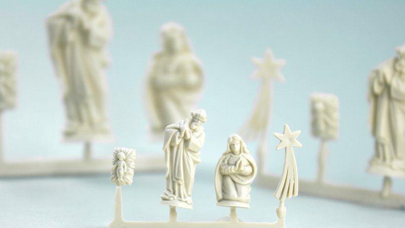 Nativity Scene - Small  - Set of 4 Mini Figures  203-3-135s