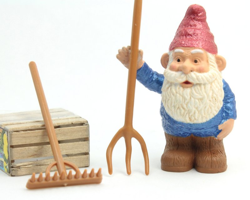 Garden Tools - Set of 10 - Gnome Mining Tools