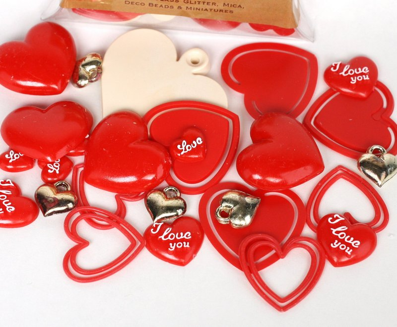 Heart Special 26 piece set! Valentines Special! 203-3-214