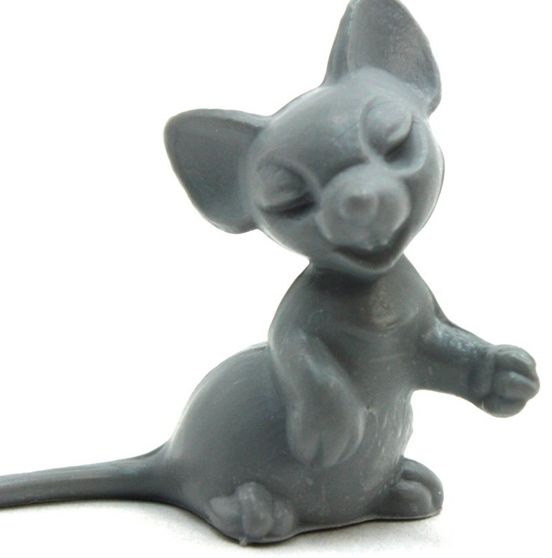 Gray Mouse - Large - Set of 6 - 203-9-130