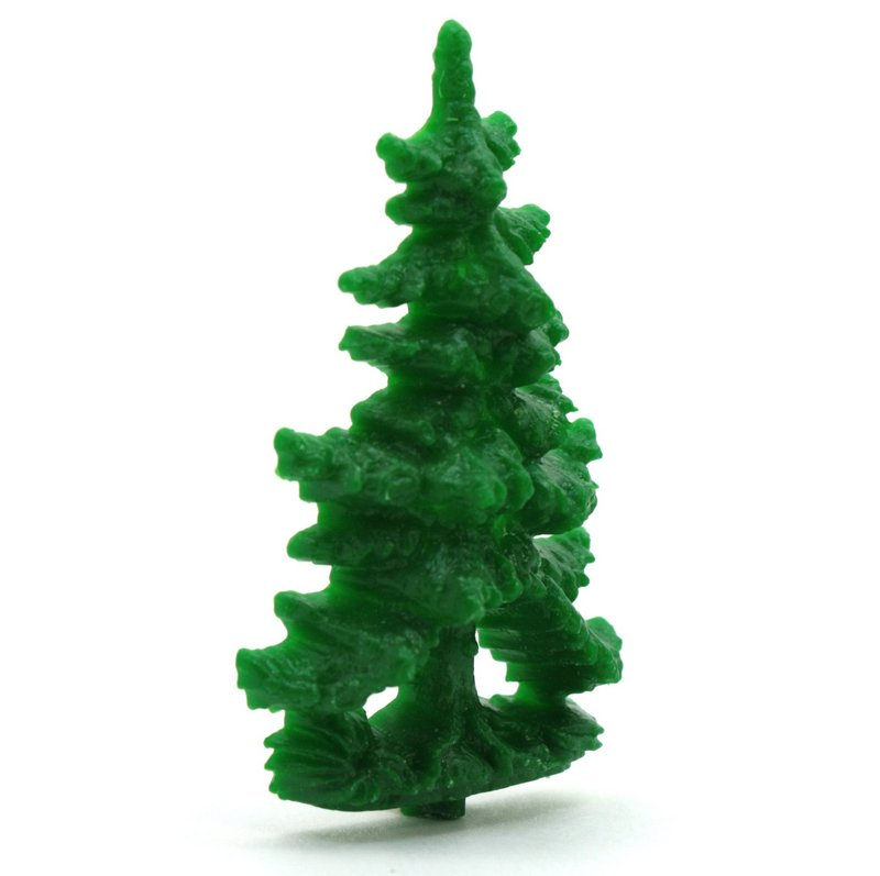 "Fairytale Forest Trees - 2"" Tall - German - 4 pcs - 203-9-181"