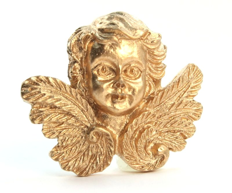 Golden Angels Figurine Heads - Set of 4 - 205-0487