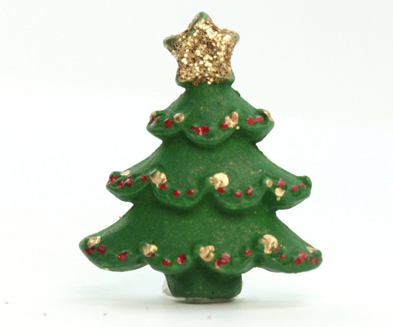 Cute Christmas Trees - Set of 4 - 205-0698