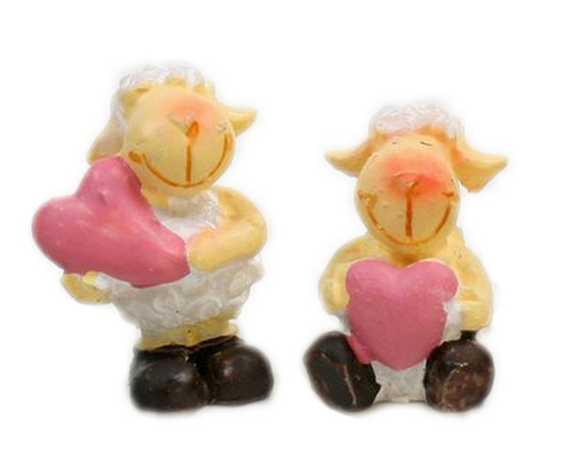 "Sheep - Lambs - 1"" Tall - Set of 4  - 205-5292"