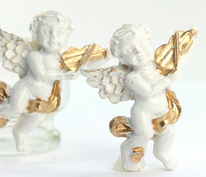 Angel - Vintage Musical - Set of 3 - #205-1171