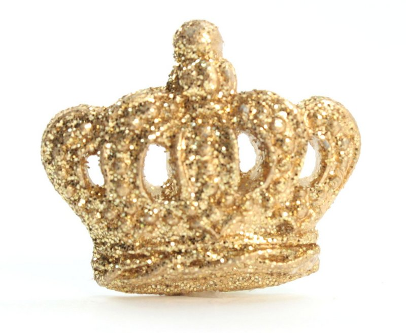 Golden Sparkle Crowns - Set of 4 - 205-1844
