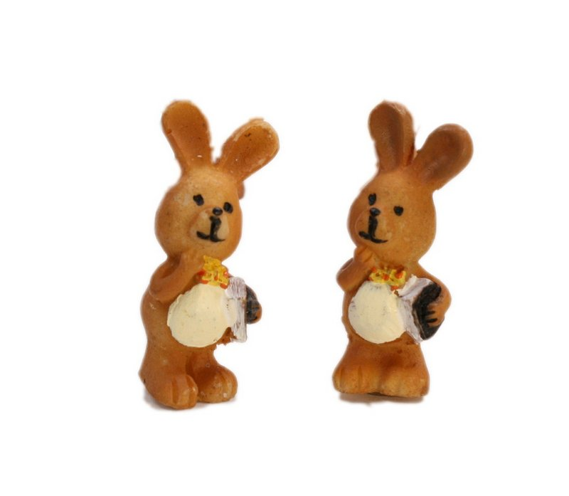 Bunny School Boys - Set of 4 - Easter - 205-5637