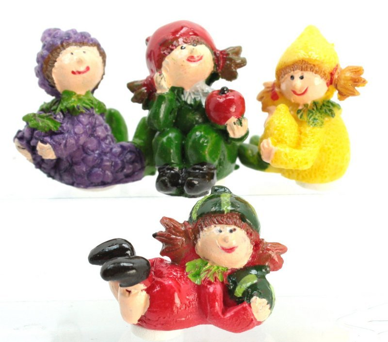 Fruit Sampler! - Little Girls - Set of 4 - 205-9559