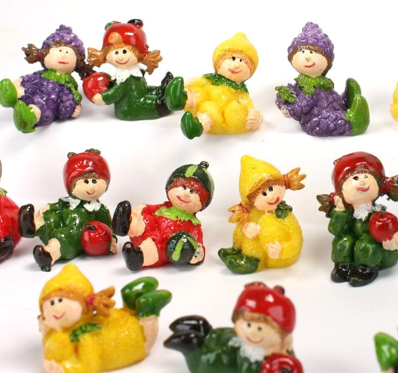 Lil Pixie Party - Mini Fruit Girls - 16 Pieces! - 205-9559