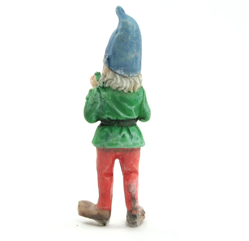 "Forest Gnome Elf - Holding Frog - 2.5""  - 207-1167"
