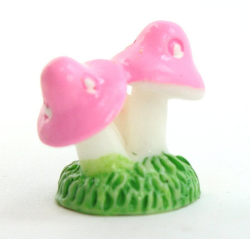 Pink - Mushroom Trio- Set of 4 Pieces - 207-1204