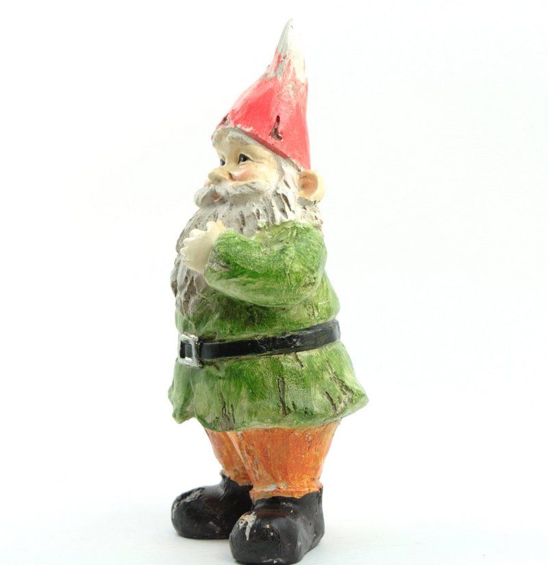 "Gnome - Regal Looking - Green Jacket - 5"" Tall - 207-52872"