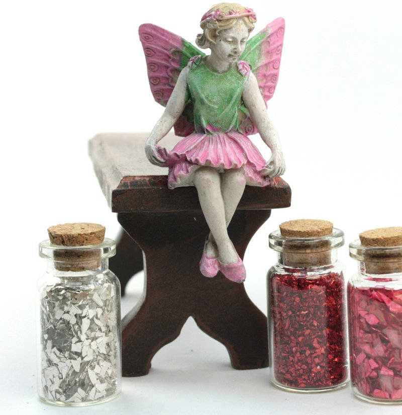 "Table - Bench - Fairy Garden - Doll - 5"" Long - 207-5293"