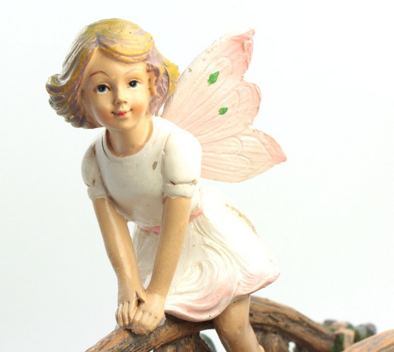 "Fairy - Pink - Pot Hugger - Sitting -  4"" Tall - 207-54483"