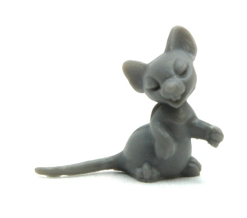 Gray Mouse - Tiny - Set of 8 - 203-9-139