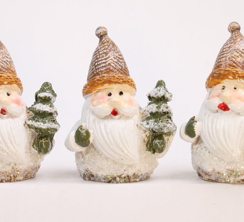 Father Winter - Christmas Santa - Set of 3 - 205-0158