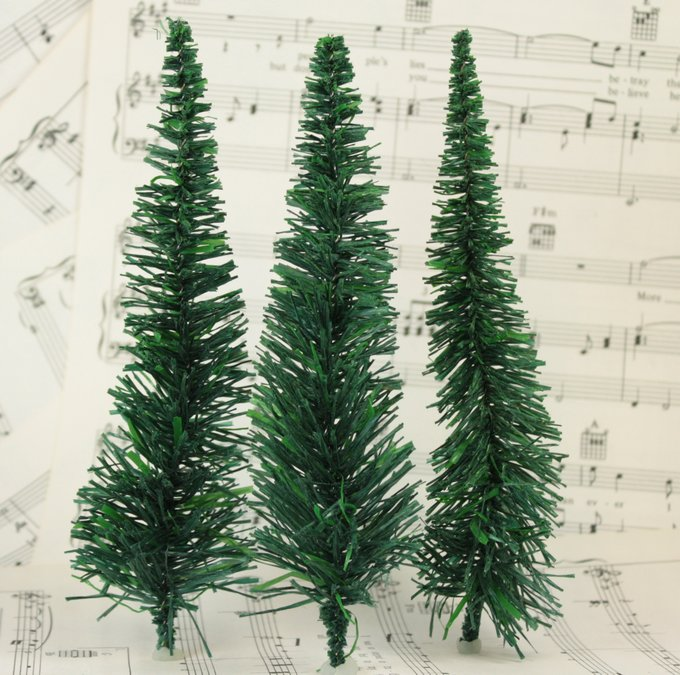 "Evergreen Tree - 6"" - 15 Pcs Set  (218-0204)"