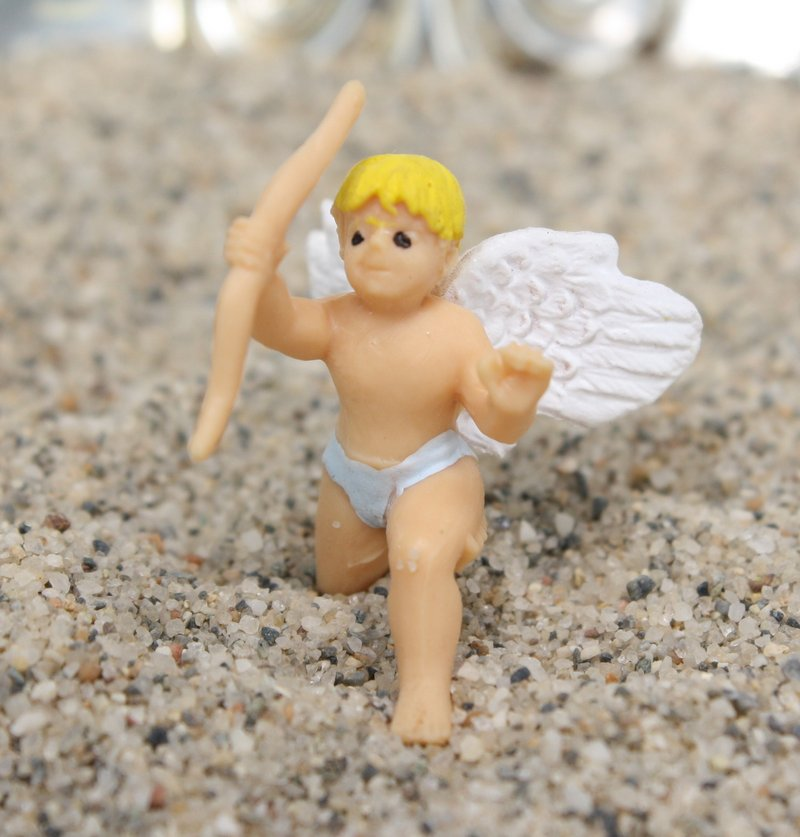 "Cupids with Wings - 1"" Tall - Set of 4 - 234-0036"
