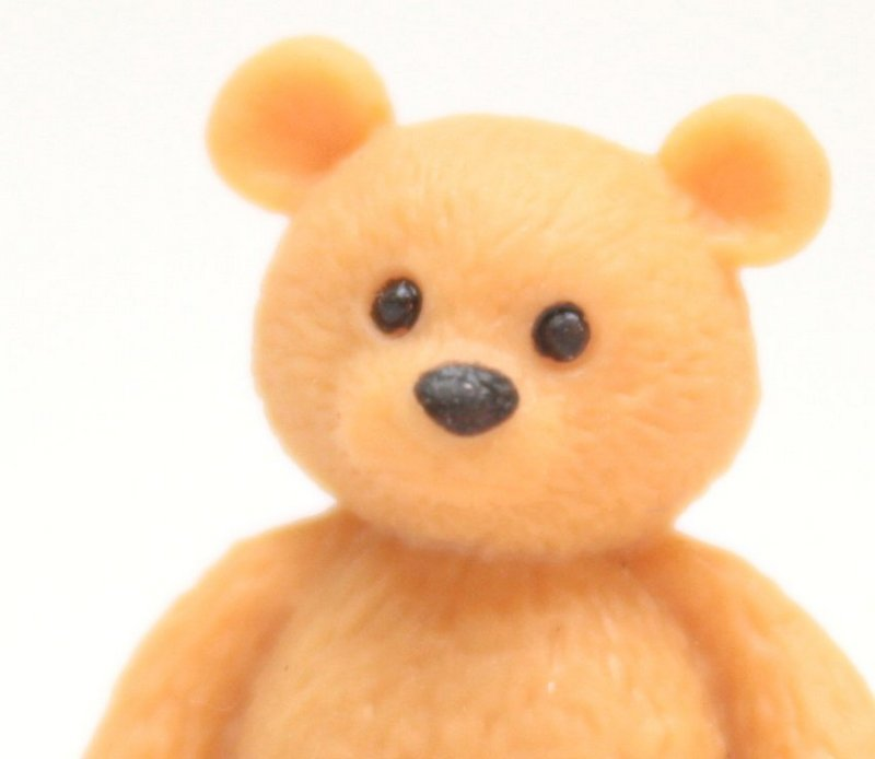 "Teddy Bears - 3/4"" Tall - Set of 4 - 234-0038"